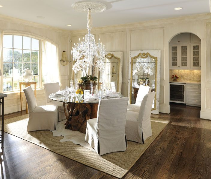 Rug in dining room for interior
