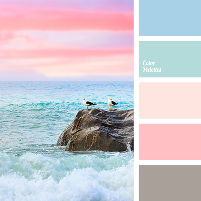 Ocean sunrise color palettes color combinations for Ocean blue color combinations