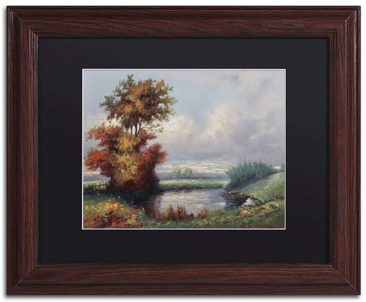 Daniel Moises Landscape Next To Heaven Matted Framed Art 11 X 14 Painting Frames Painting Prints Art