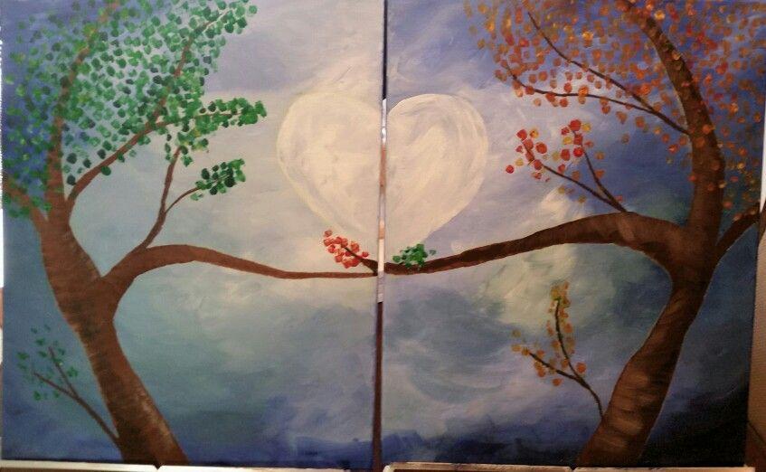 Dual canvas