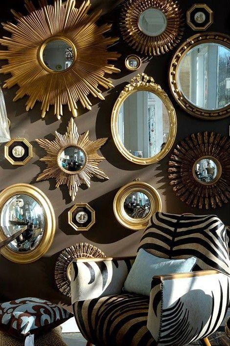 Как использовать зеркало в современном интерьере квартиры ...