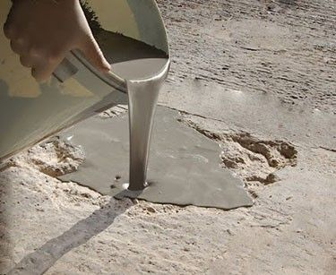 Flowpatch self leveling concrete patch repair perfect for for Bare floor solutions