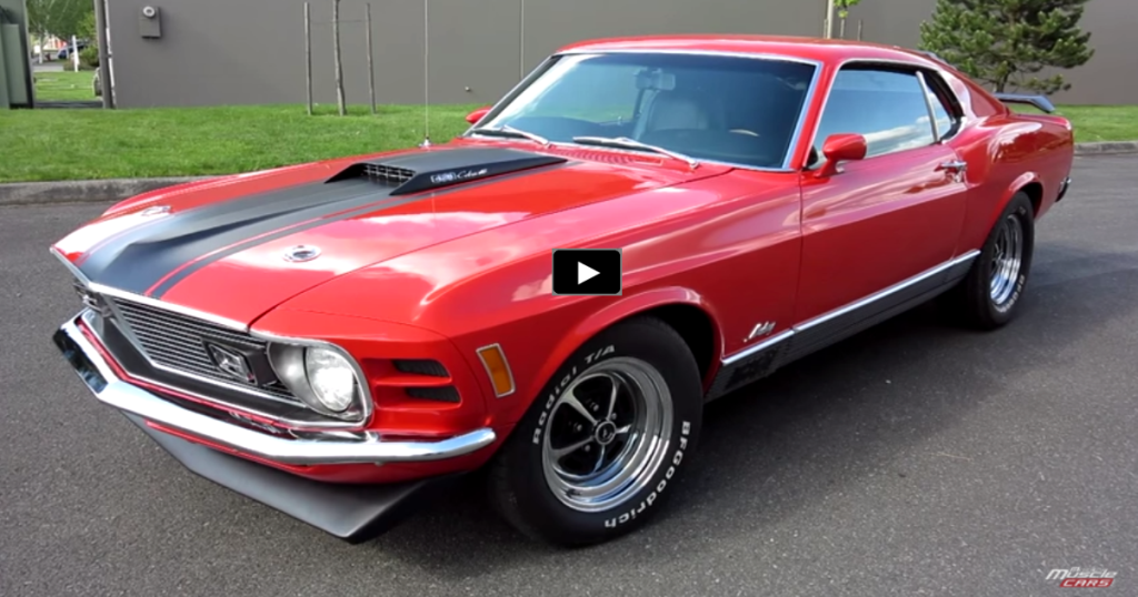 Rare 1970 Mustang Mach 1 Q-Code Review & Test Drive