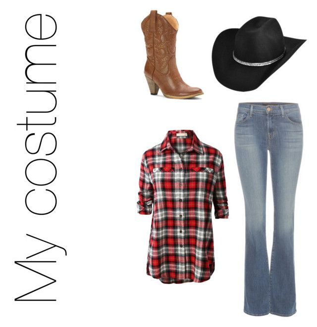 """Untitled #107"" by player-61 ❤ liked on Polyvore featuring Bailey Western, Volatile, J Brand and LE3NO"