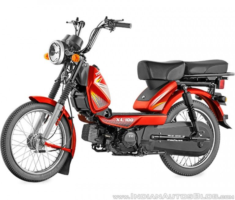 Tvs Xl 100 Launched In Six More Markets Including Kerala
