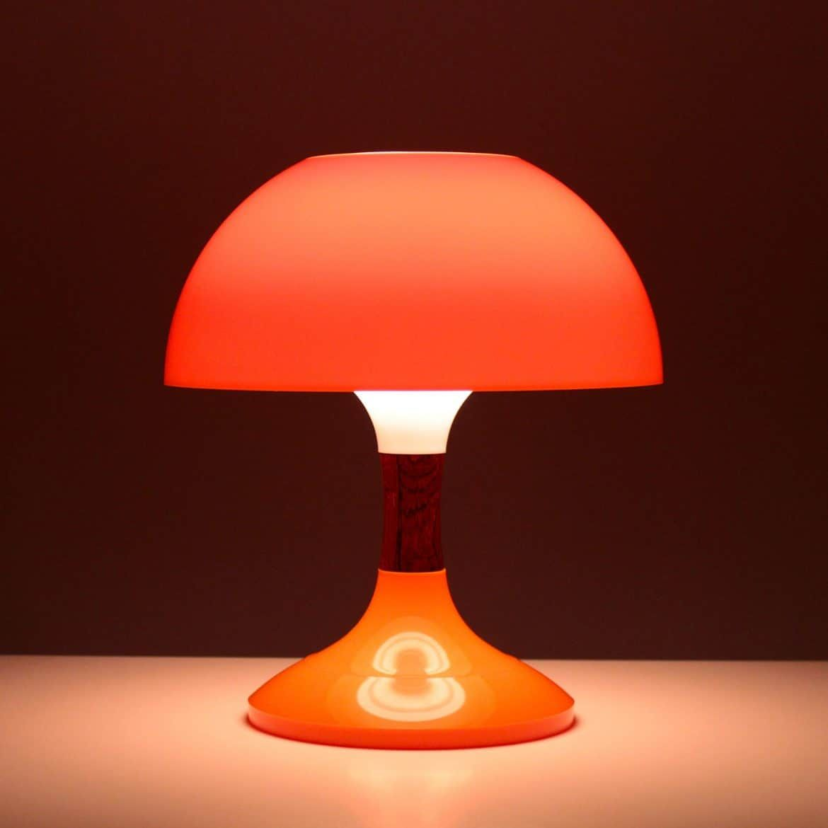 half lamps orange lighting moon lamp karboxx mini light table eames