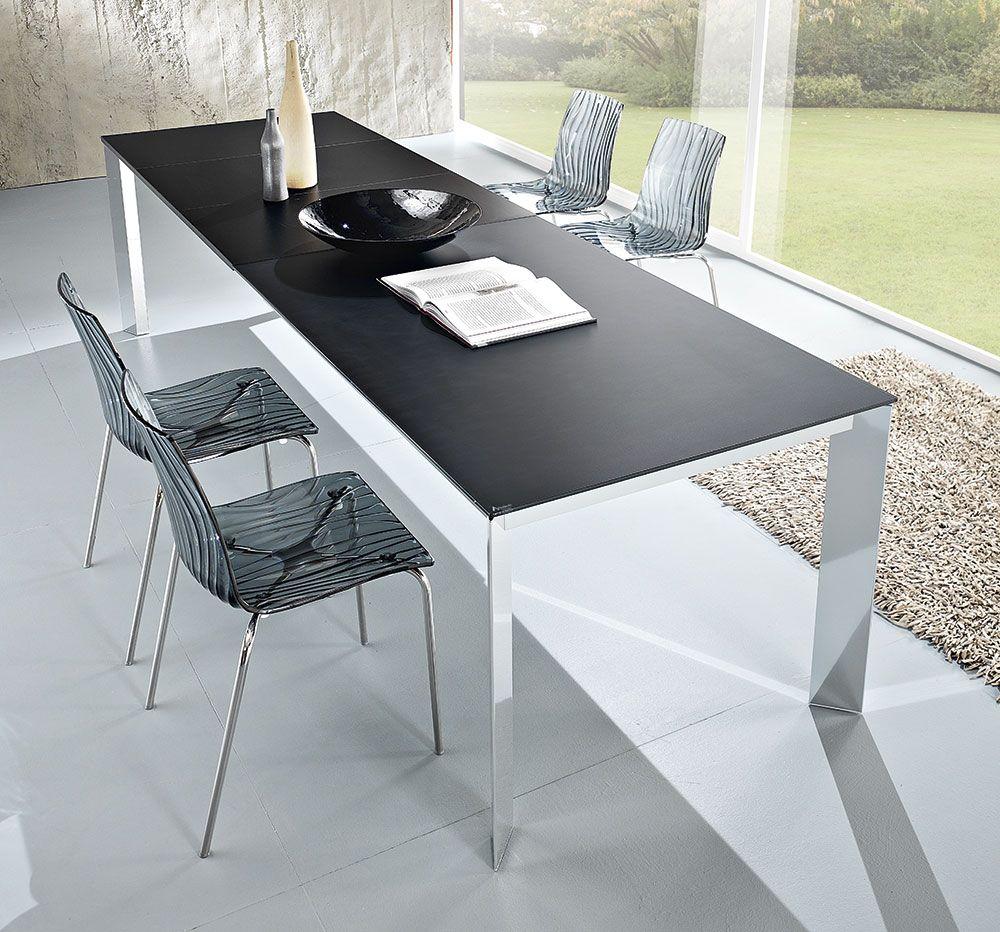 Tavolo rettangolare allungabile in legno Friulsedie Metis