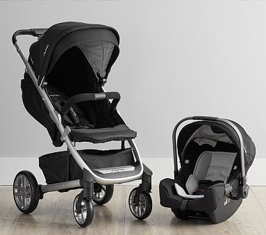 Nuna Tavo Stroller And Carseat Travel System Aluminum