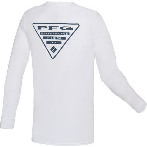 75fd2a47 Columbia Sportswear Men's PFG Triangle Long Sleeve T-shirt ...