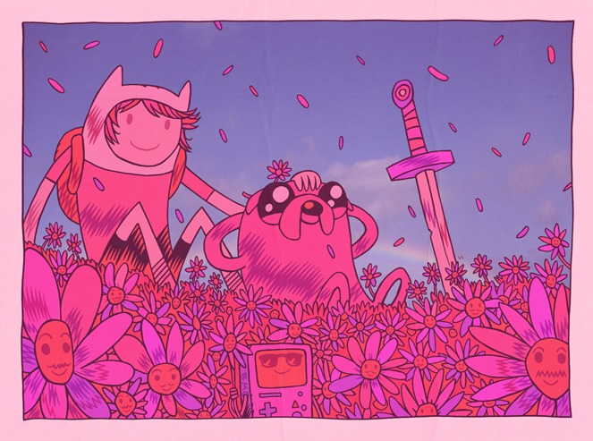 MISTERHIPP: TIME IS ON MY SIDE.  Adventure Time