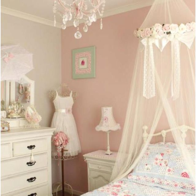 Gorgeous Girly Room Fit For A Princess