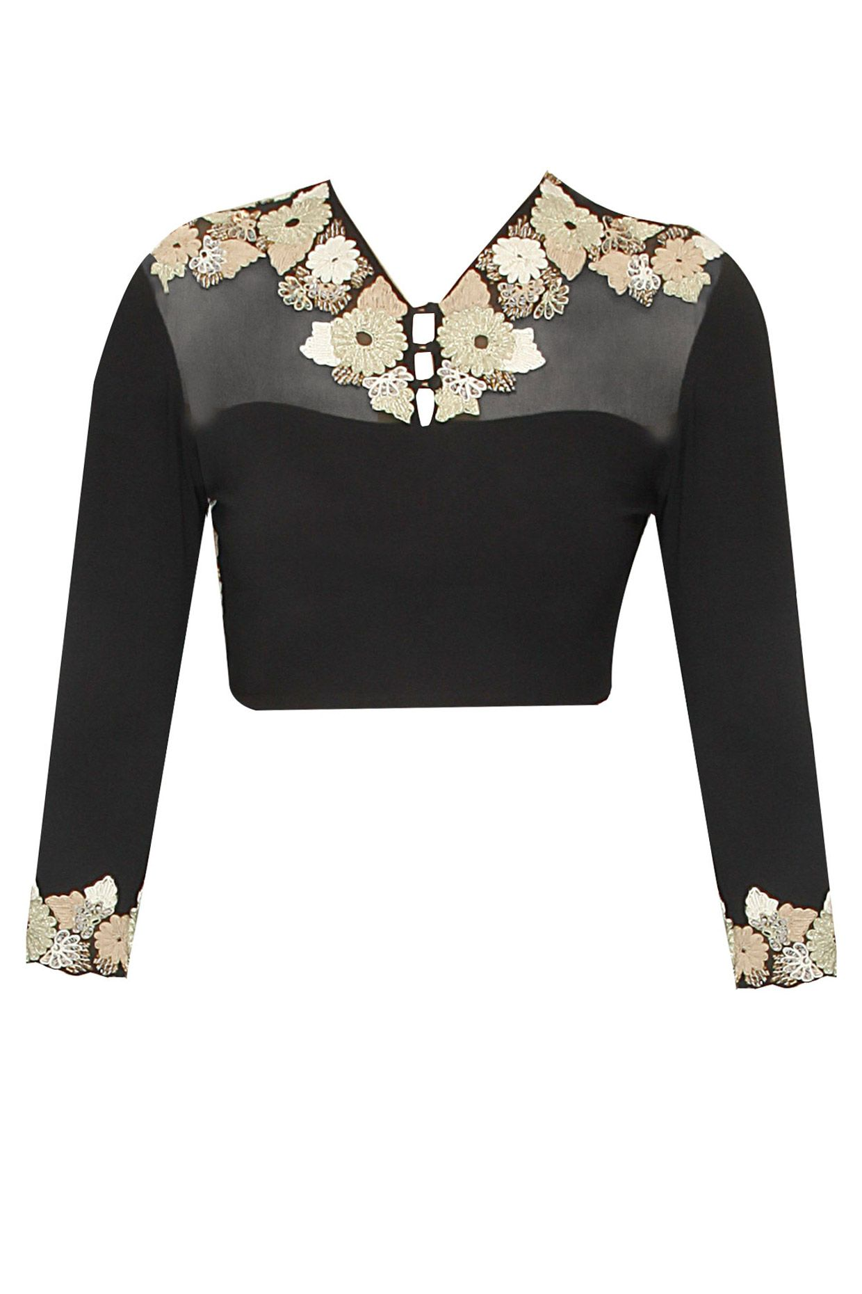 Black lover.. get this designer blouse only at myTailor. in ...