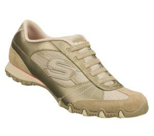 Skechers Bikers Vexed Shoes (Taupe) - Women's Shoes - M