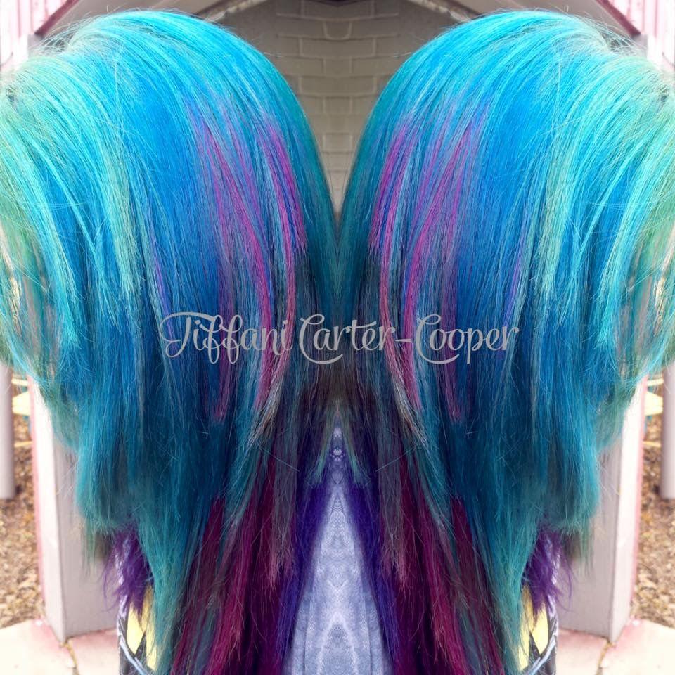 Pin By Tc Salon On Vivid Hair Color Pinterest Vivid Hair Color