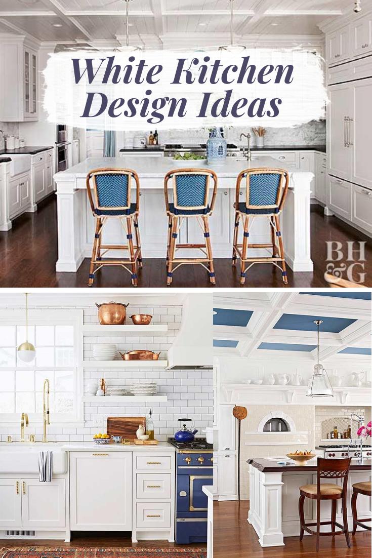 White kitchen design ideas color inspiration