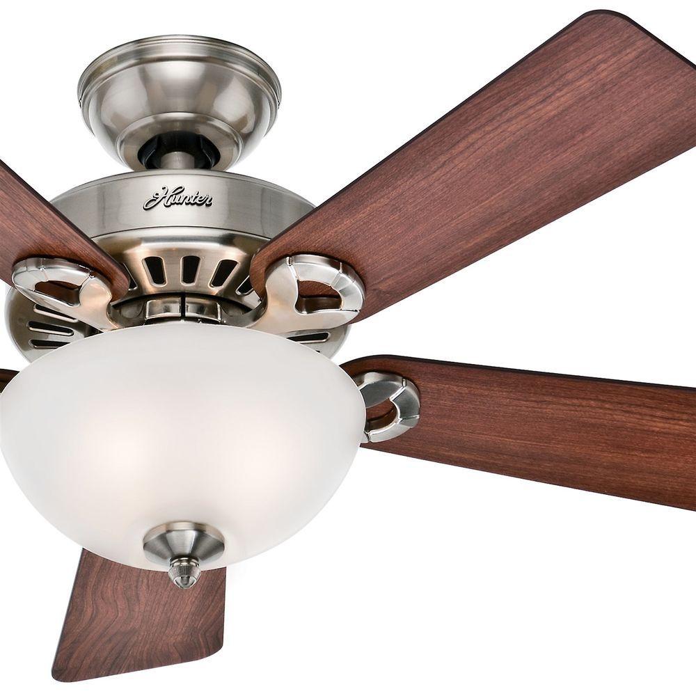 Ceiling Hunter 44 Ridgefield Brushed Nickel Fan