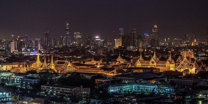 Wat Phra Kaew, Bangkok, Central Thailand, Asia