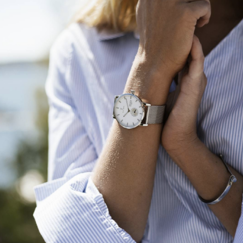 The classic Scandi style with Ivory Falken Steel Mesh from Triwa is one timepiece you should not miss. Simple and minimalist, it bears the signature look every Triwa watch.  To see more of our Triwa collection, click link in http://bit.ly/2tbBKkt?utm_content=buffera4b8a&utm_medium=social&utm_source=pinterest.com&utm_campaign=buffer.  Repost: @triwa