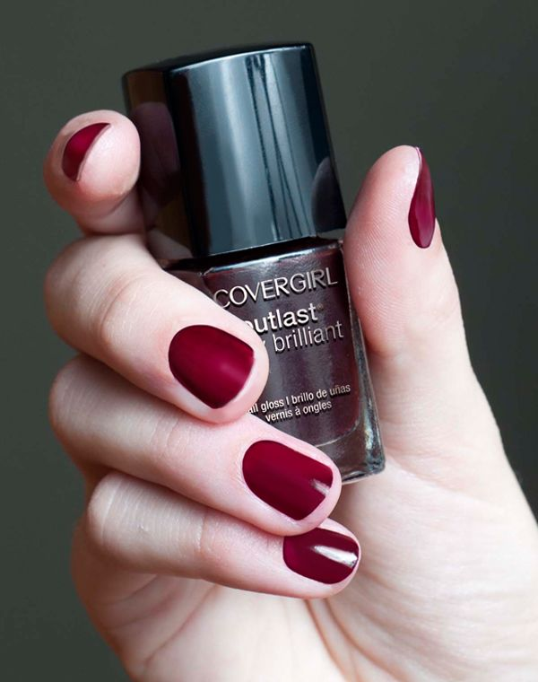Try New COVERGIRL Outlast Nail Gloss in Wine Stain at #Walmart ...