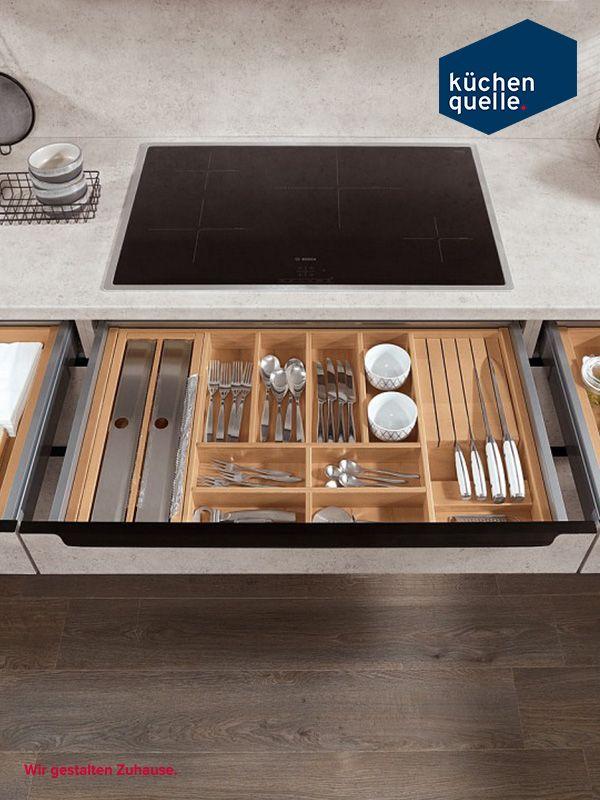 Die Küchenschränke der Norina 1351 bieten genug Platz, um jeglichen - www küchen quelle de