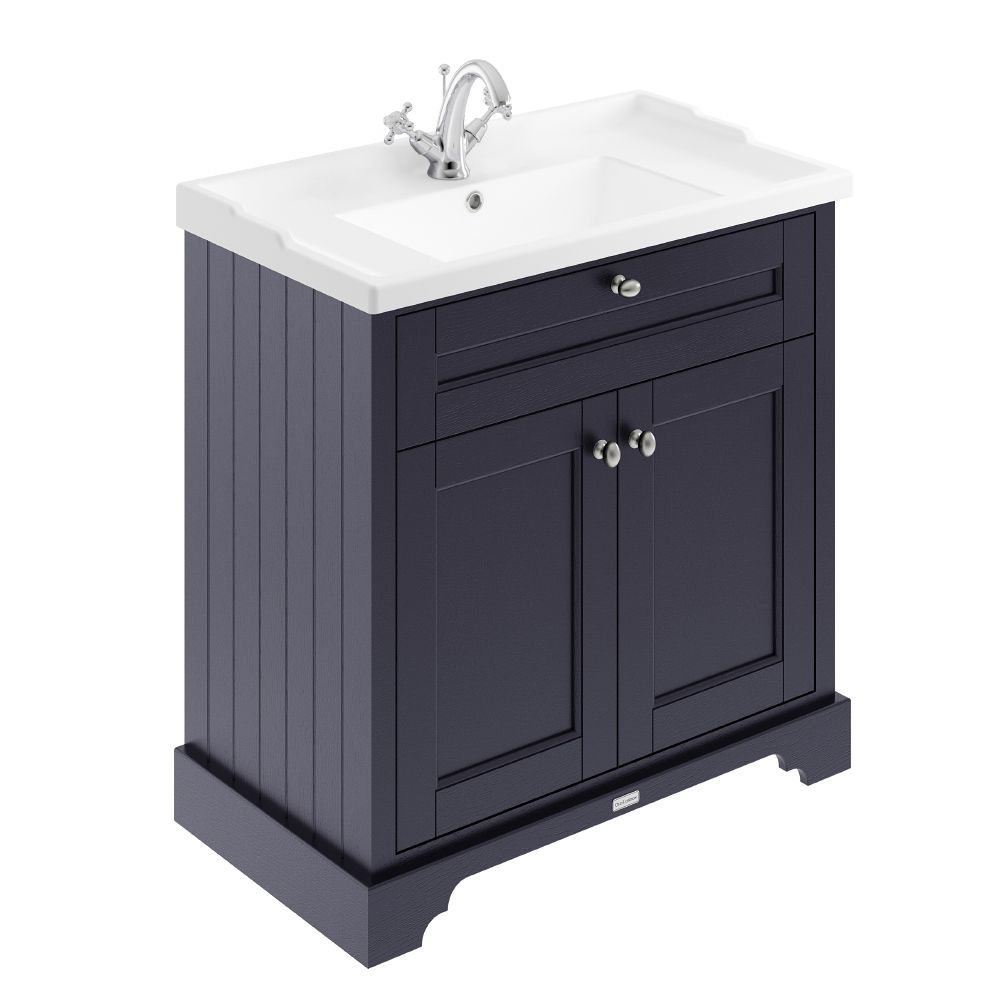 Hudson Reed Old London Floor Standing Vanity Unit With Basin 800mm