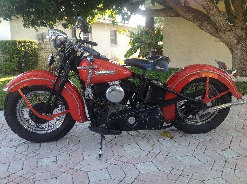 For Sale 1937 Harley Davidson Other 1937 Harley Davidson Model Ulh