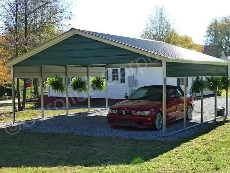 The perfect 2 car carport in 2020 2 car carport, Roof