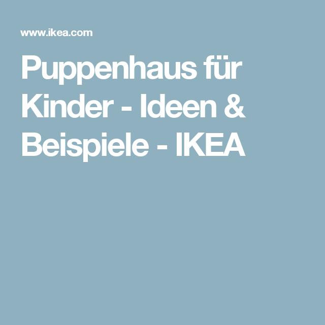 Puppenhaus für Kinder - Ideen & Beispiele - IKEA