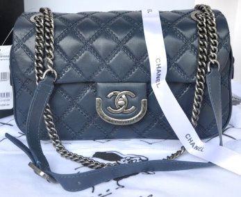 e27a0c5566ba CN0021 Chanel 31 Rue Cambon Paris Bag in Original Leather A67824 Royalblue
