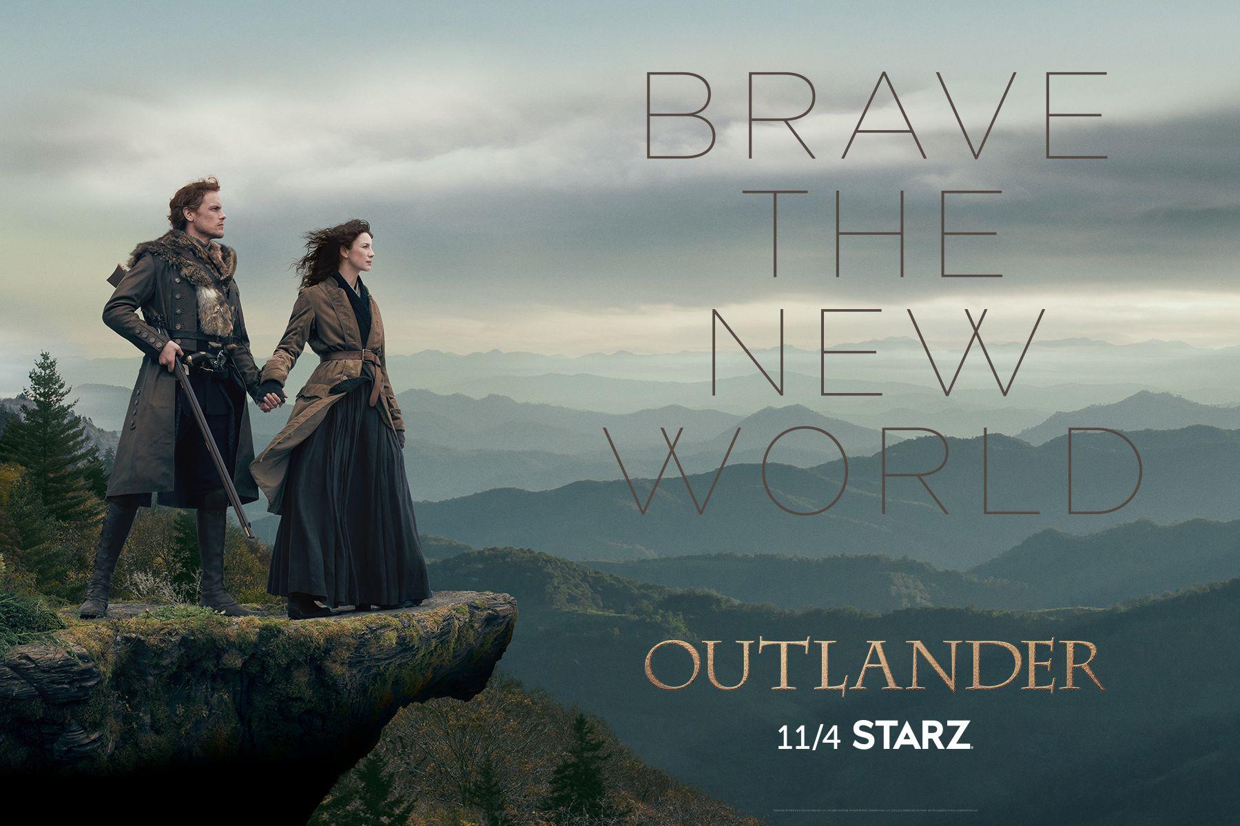 Poster Oficial De La 4ta Temporada De Outlander Outlander Season 4 Outlander Starz Outlander