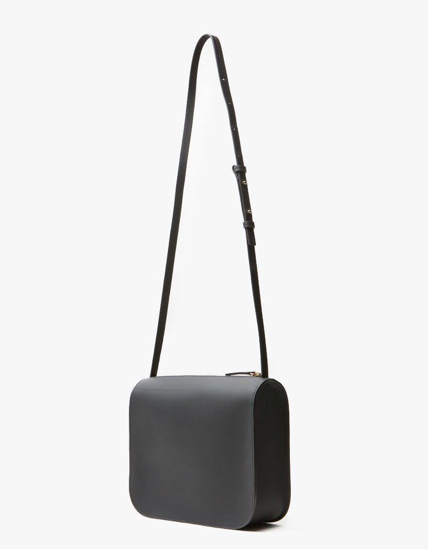 Cuero Mor Crossbody Bag In Black Minimalist Bag Crossbody Bag