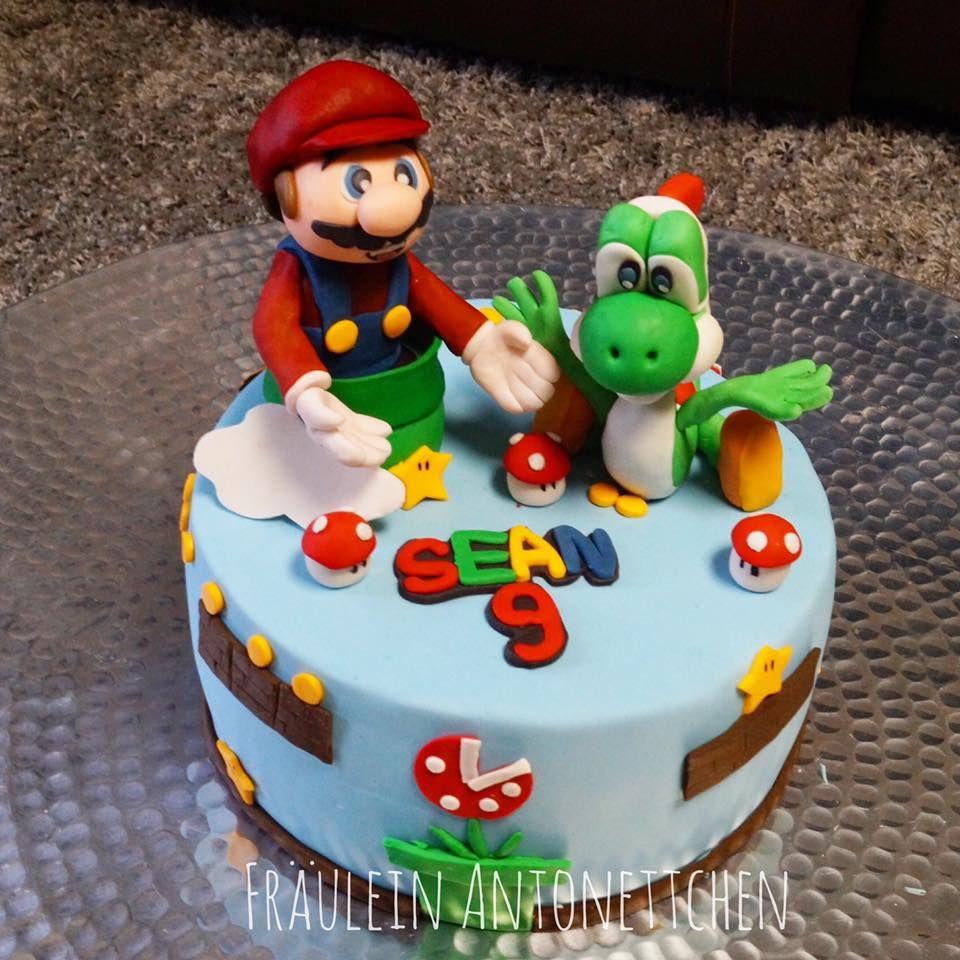 Fraulein Antonettchen Super Mario And Yoshi Cake Und Torte