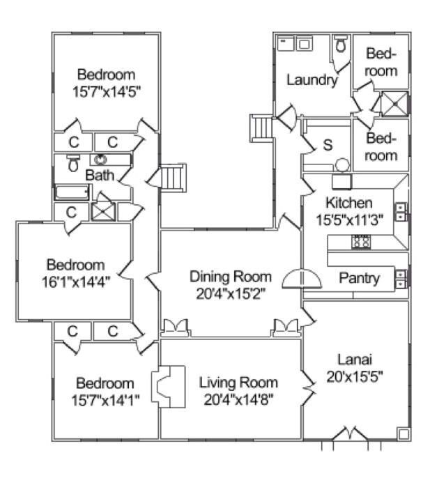 Floorplan, Canby Neighborhood \