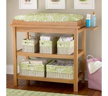 natural wood changing table | Minion babies | Pinterest | Muebles ...