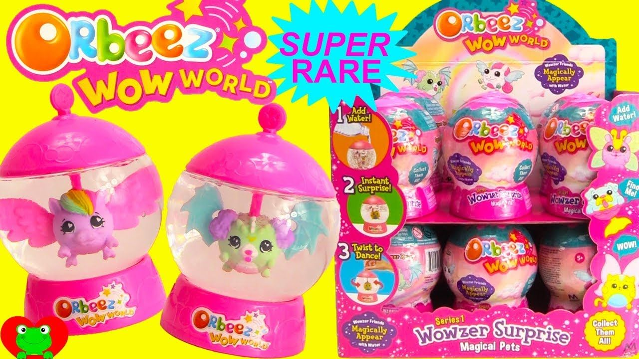 Orbeez Wow World Wowzer Surprise Super Rare Magical Pet