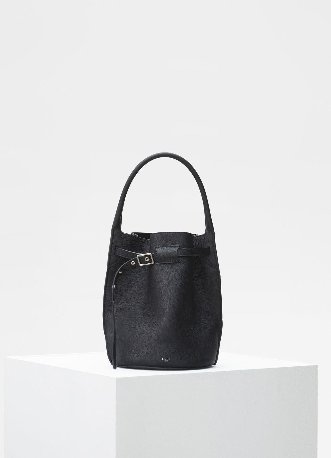 ca633a8c60 Big bag bucket in supple grained calfskin