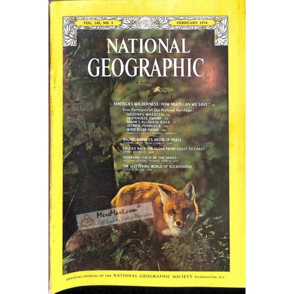 Cover Print of National Geographic Magazine, February 1974 | $0.00