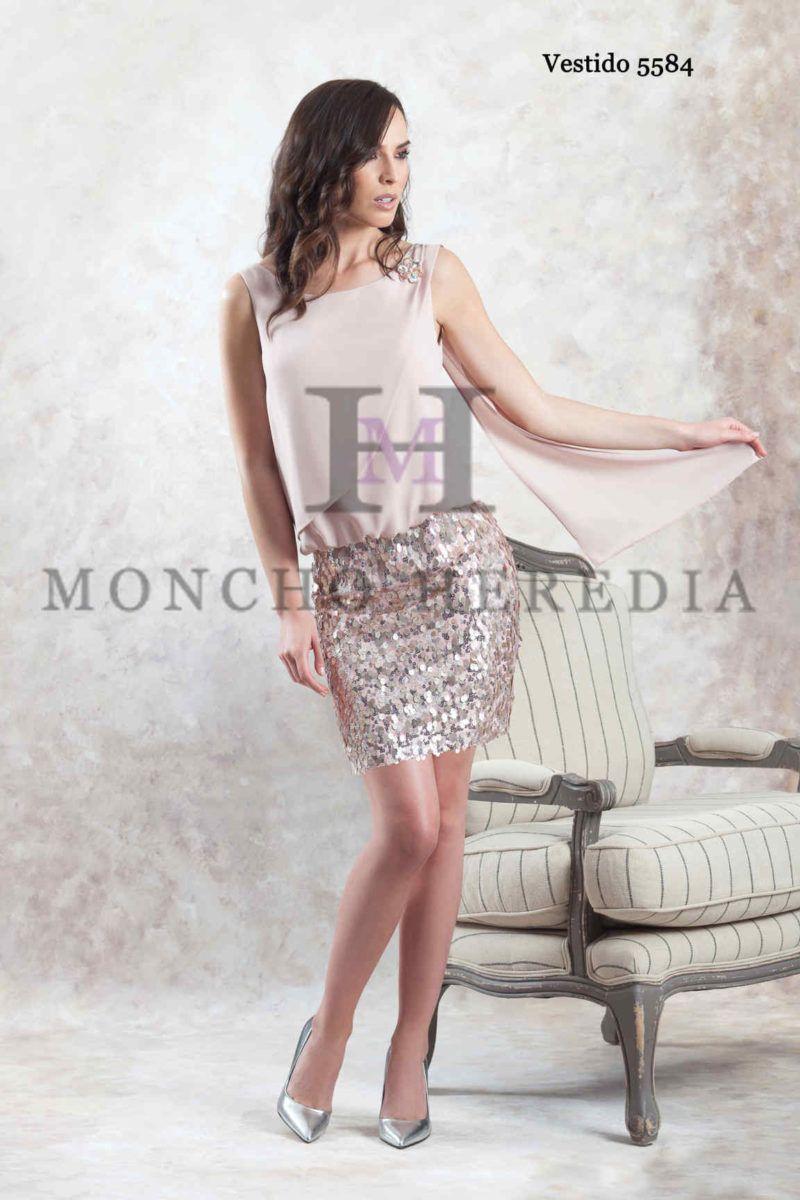 76d2745fc Vestidos de fiesta Moncho Heredia colección 2019 - Entrenovias in ...