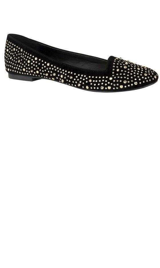 Studded Slipper Shoes<3
