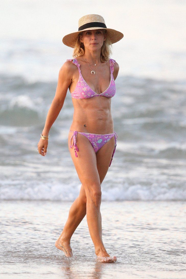 Elsa Pataky Walked Down the Beach in a $65 Bikini — Say No More, Were Buying It