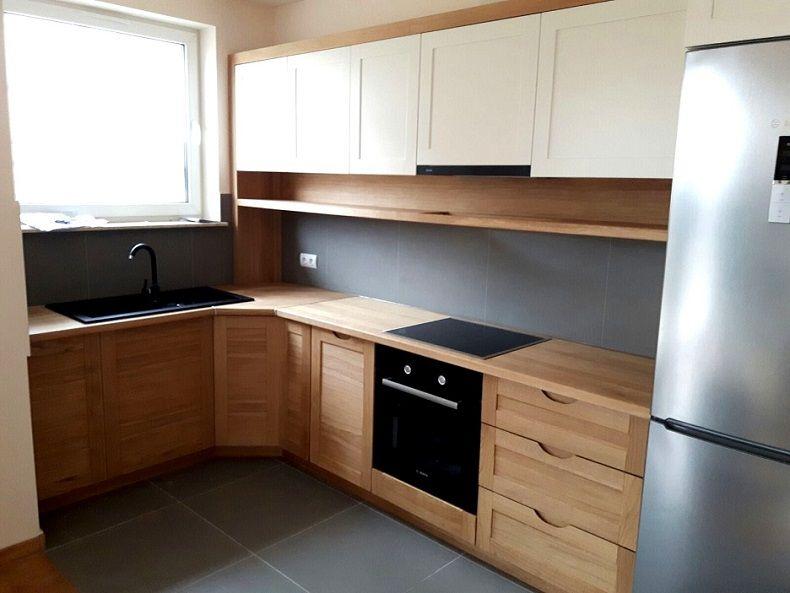 Kuchnia Drewniana Na Wymiar Cala Polska Sengo 6645519250 Oficjalne Archiwum Allegro Kitchen Cabinet Colors Kitchen Cabinets Home Decor