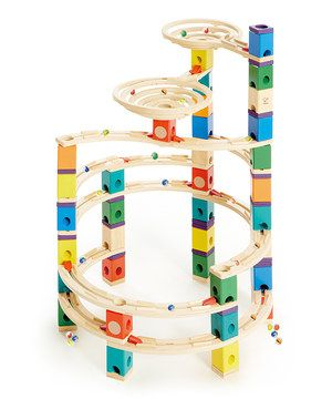 Look what I found on #zulily! Cyclone Marble Run Set by Hape Toys #zulilyfinds