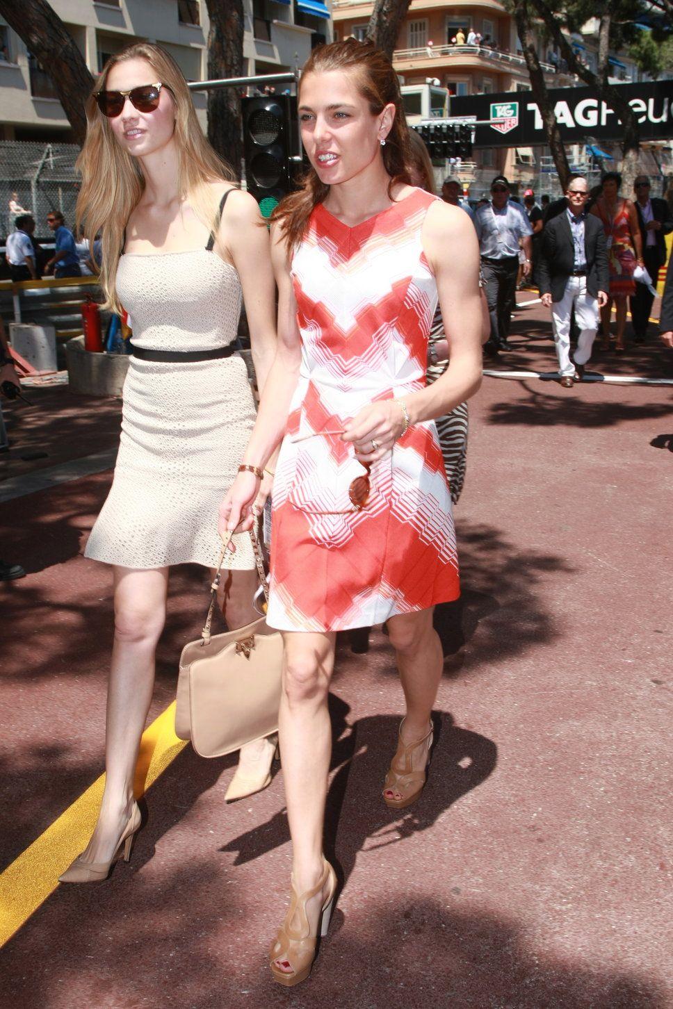 Charlotte Casiraghi and Beatrice Borromeo