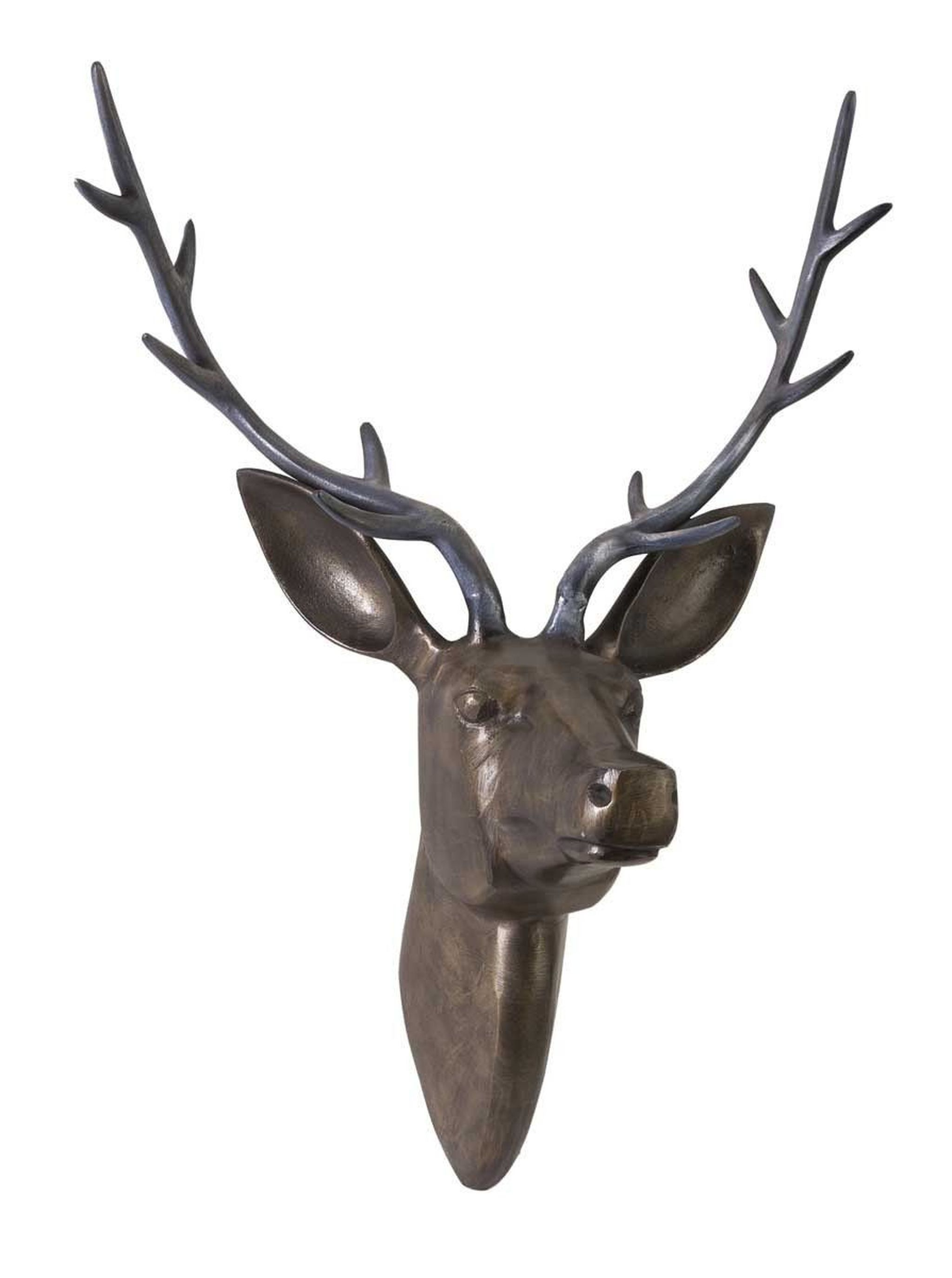 125 10 Imax Goodwin Aluminum Deer Head In 2019 Deer Head Decor Deer Wall Art Wildlife Decor