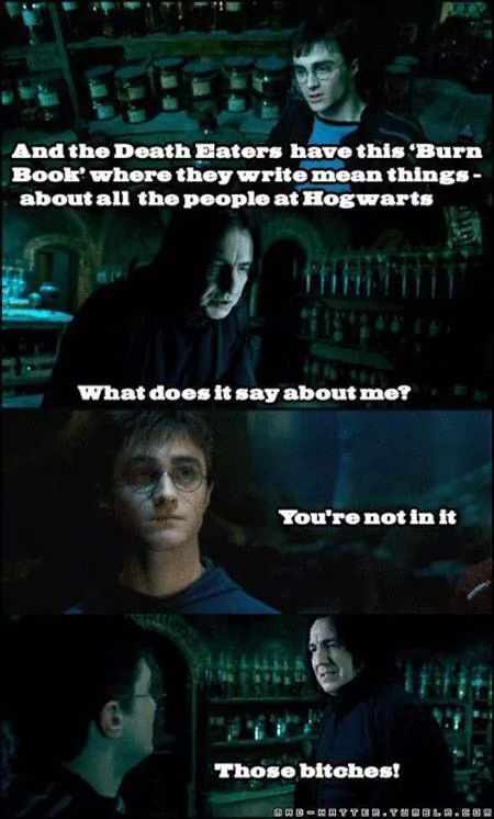 Harry Potter / Mean Girls crossover