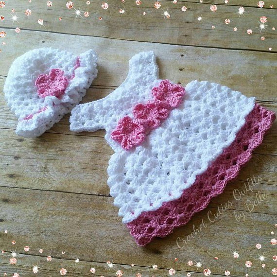 cffbc2b0f Crochet Baby Dress Pattern
