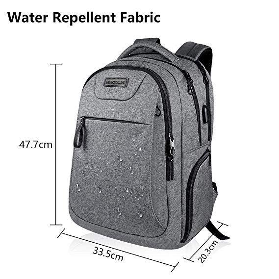 Advertisement  KROSER Laptop Backpack 17.3 Inch Computer Backpack School  Backpack Casual Daypack Water-Repellent Laptop Bag 496bb908e3beb
