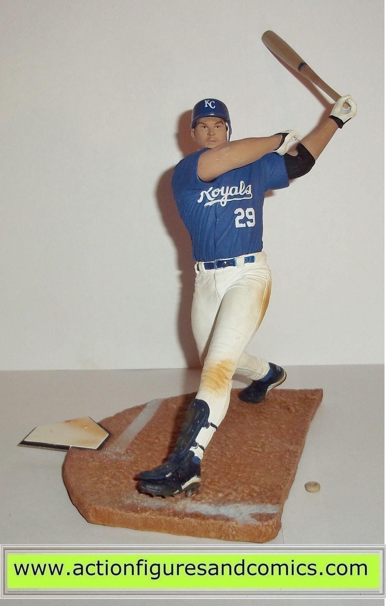 Mcfarlane Sports Action Figures Mike Sweeney Kc Royals Sportspick Baseball Toys Baseball Toys Action Figures Kc Royals