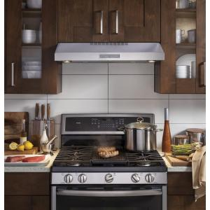 Ge Profile 30 In Convertible Under The Cabinet Range Hood With Led Light In Stainless Steel Kitchen Range Hood Kitchen Design Kitchen Cabinets And Countertops