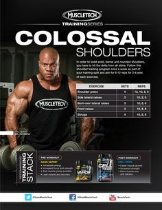 in order to build solid dense and rounded shoulders you